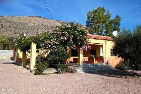 Vakantiehuis Spanje, Costa Blanca, Hondón de las Nieves - studio La Solana