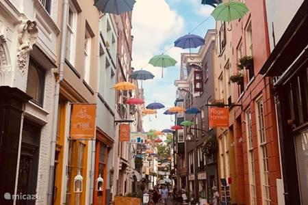 Knusse winkelstraatjes in Deventer
