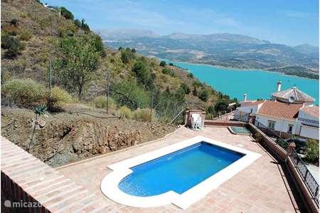 Vakantiehuis Spanje, Andalusië, Viñuela villa Casa Los Suenos
