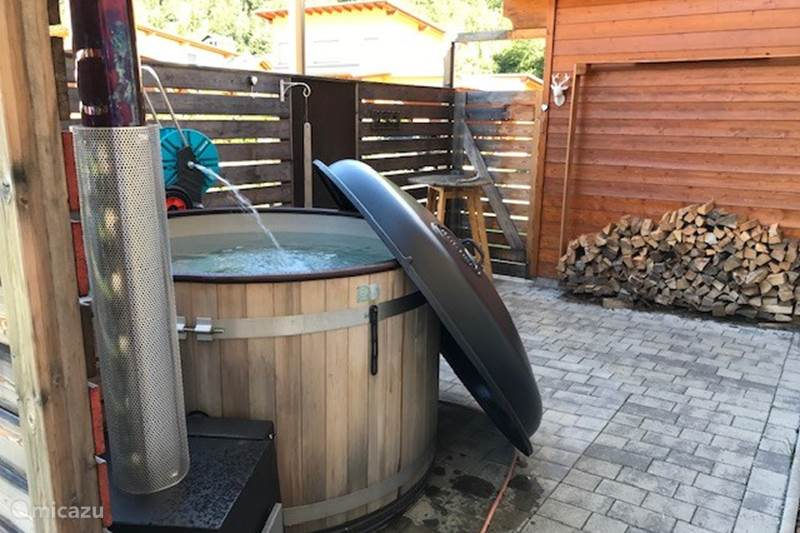 Vacation rental Austria, Carinthia, Kötschach-Mauthen Chalet Chalet Znowië with Hottub, pizza oven