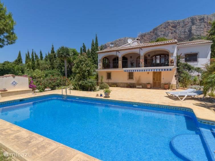 Vakantiehuis Spanje, Costa Blanca, Javea Vakantiehuis Casa América