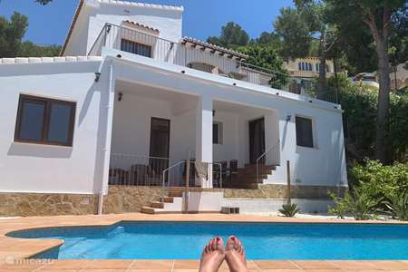Vacation rental Spain, Costa Blanca, Moraira villa Villa Herrera