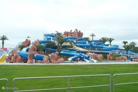 Waterpark, ideaal voor de kids