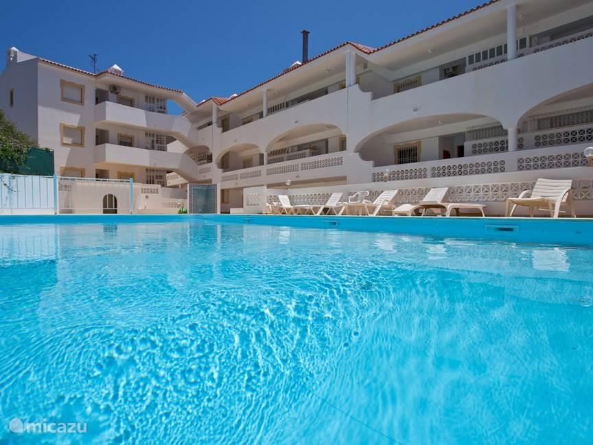 Vakantiehuis Portugal – appartement Algarve appartement zwembad 5pers.