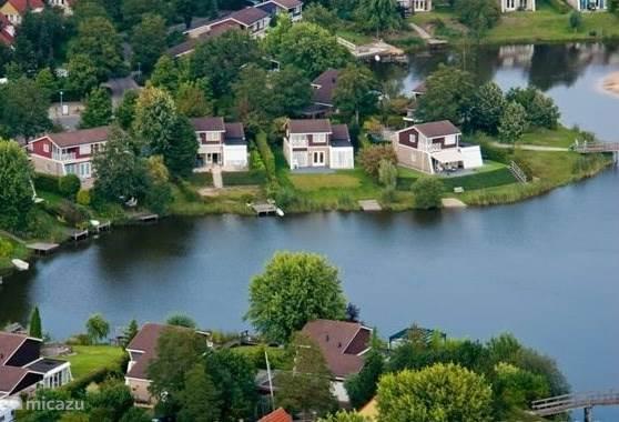 Ferienwohnung Niederlande – ferienhaus Emsland Comfort freistehend am See