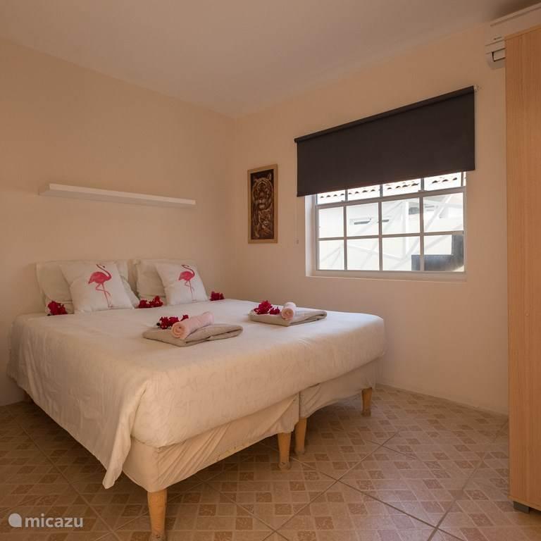 heerlijke slaapkamer met airco