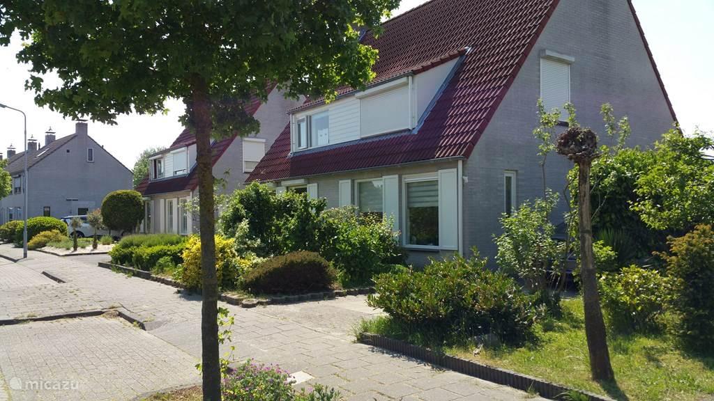 Vakantiehuis Nederland, Zeeland, Goes stadswoning Centraal in Zeeland