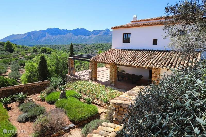 Vakantiehuis Spanje, Costa Blanca, Lliber Finca Finca Iris