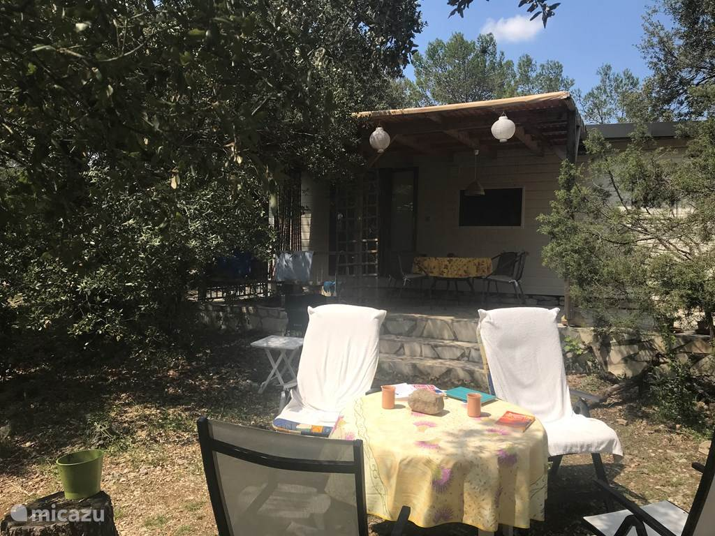 Vakantiehuis Frankrijk, Hérault, Vacquières Stacaravan Luxe stacaravan met grote tuin
