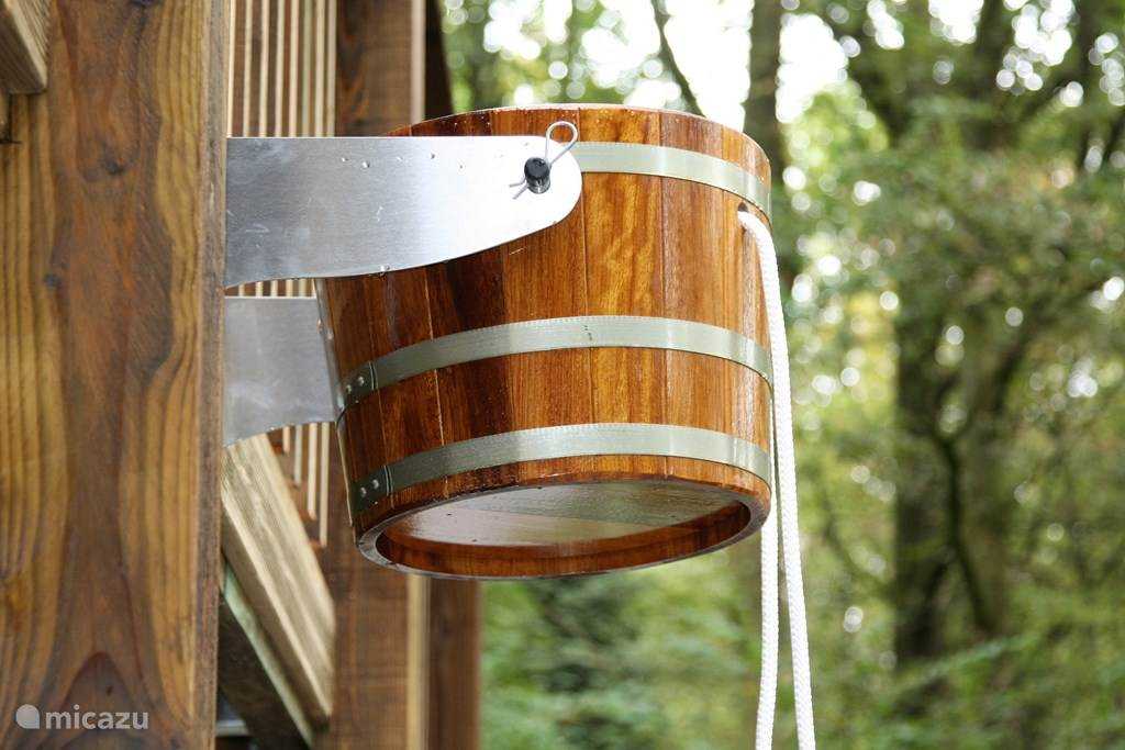 pouring bucket