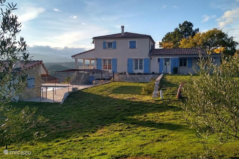 Vacation rental France, Ardèche, Chambonas Villa Le Mas de Vignal