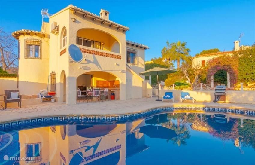 Vakantiehuis Spanje, Costa Blanca, Benissa villa Mare selva