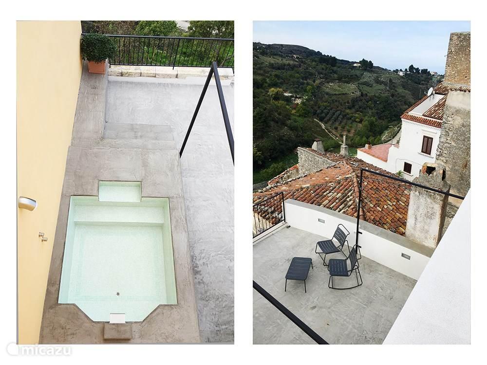 Vakantiehuis Italië, Apulië, Vico del Gargano Stadswoning La Dolce Olita