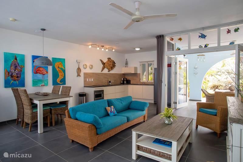 Vakantiehuis Bonaire, Bonaire, Belnem Appartement Windsock Beach Resort appartement #1