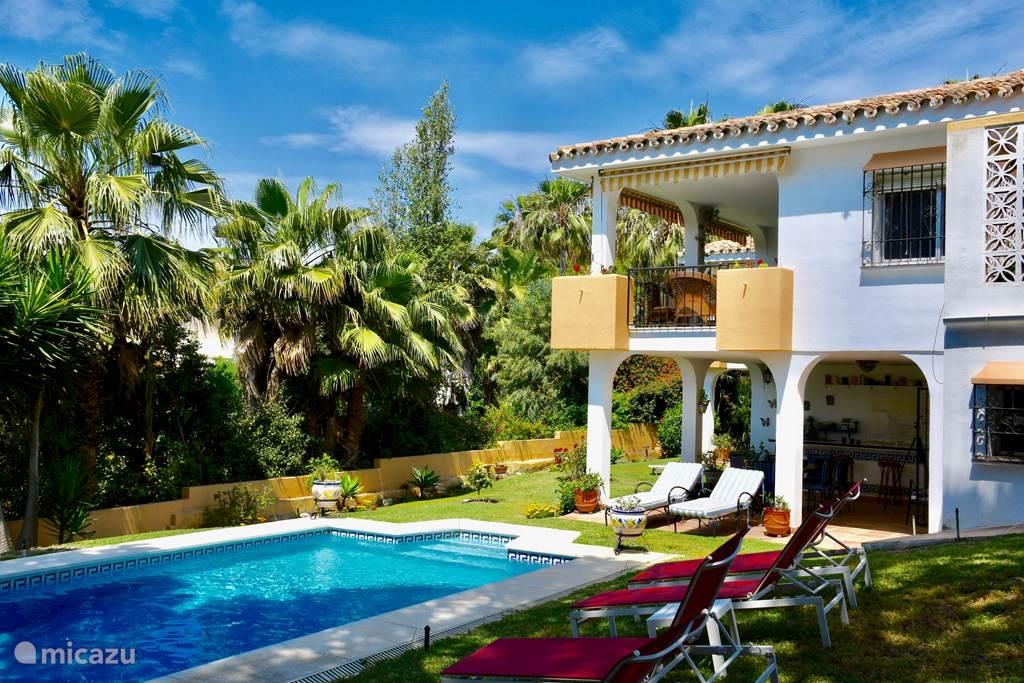 Vakantiehuis Spanje, Costa del Sol, Marbella Elviria villa Villa la Madrugada