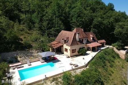Vakantiehuis Frankrijk, Dordogne, Saint-Cybranet villa Villa Rêve des Roses