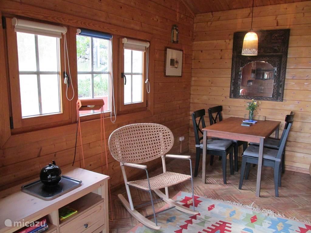 Eettafel woonkamer/keuken