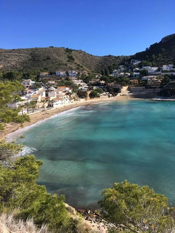 mooie strand van El Portet