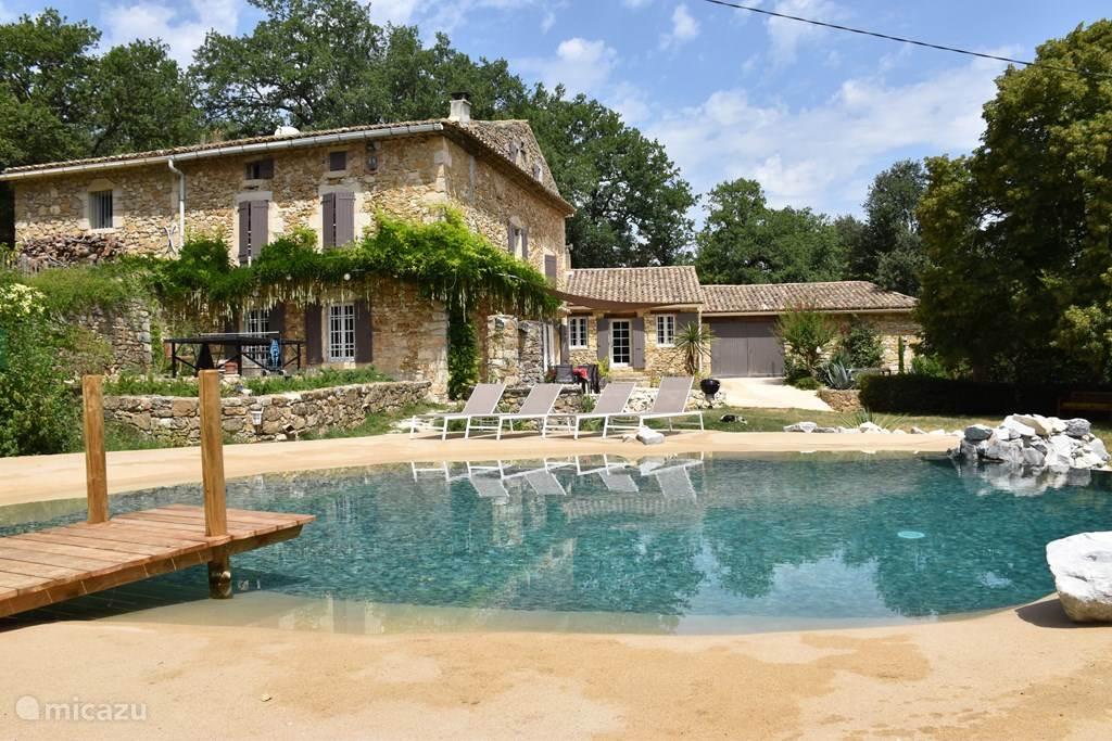 Vakantiehuis Frankrijk, Gard, La Roque-sur-Cèze Gîte / Cottage Domaine Maubarrat