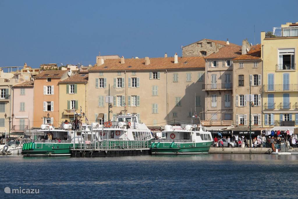 Navette boat to St. Tropez
