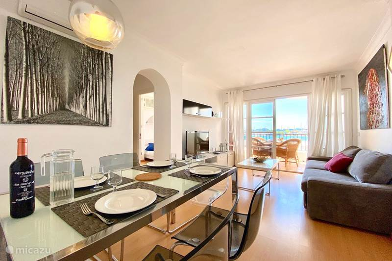 Vakantiehuis Spanje, Mallorca, Alcúdia Appartement Alcudia La Bella - Zee, Zwembad