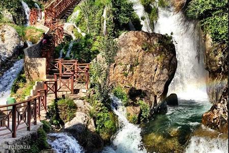 Watervallen fonts de L'agar