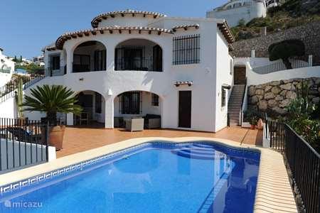 Vacation rental Spain, Costa Blanca, Dénia villa Pego-ba-ba