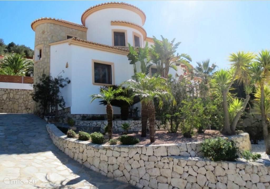 Vakantiehuis Spanje, Costa Blanca, Benitachell Villa Villa Bianca tussen Moraira en Javea
