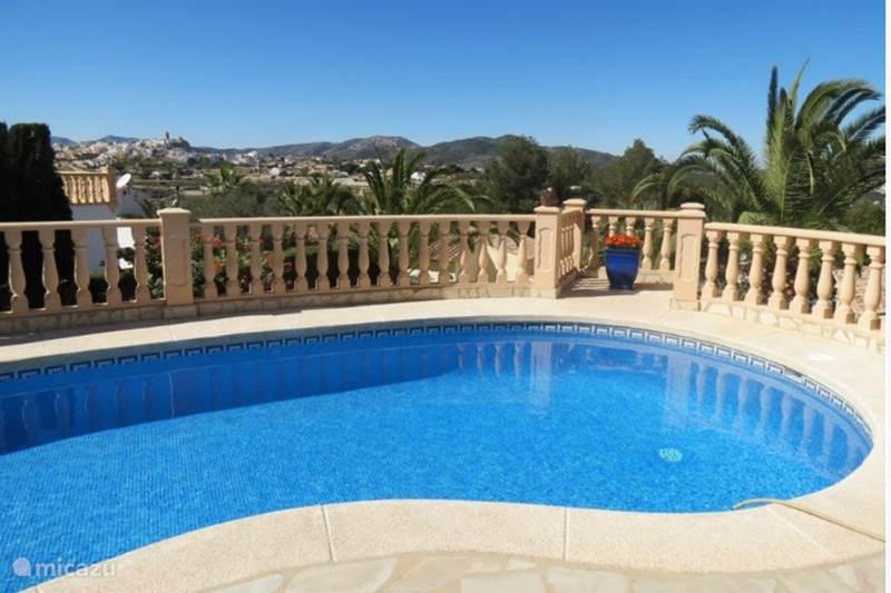 Vacation rental Spain, Costa Blanca, Benitachell Villa Villa Bianca between Moraira and Javea