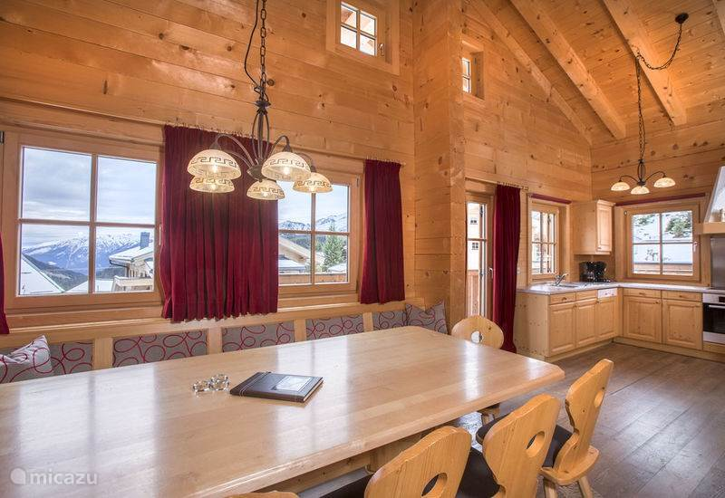 Vacation rental Austria, Salzburgerland, Königsleiten Chalet Murmelalm