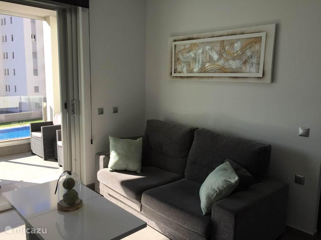 Vakantiehuis Spanje, Costa Blanca, Torrevieja Appartement Luxe appartement 50m van de zee 2c
