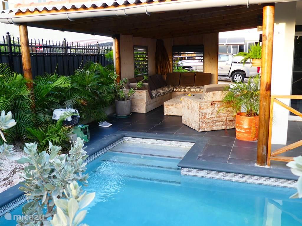 Vakantiehuis Curaçao, Banda Ariba (oost), Mambo Beach Appartement Sabroso appartement