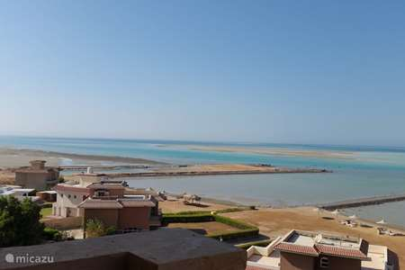 Vakantiehuis Egypte, Rode Zee, Hurghada appartement SeaView Residence Turtles Studio