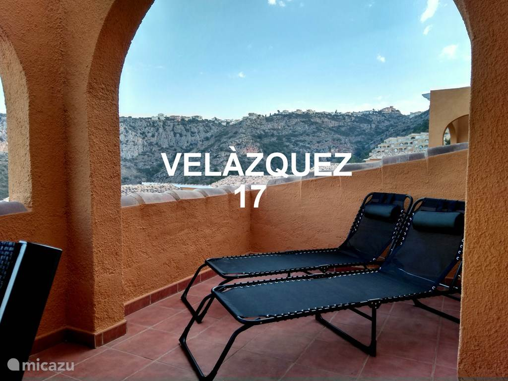 Vacation rental Spain, Costa Blanca, Benitachell apartment Velasquez 17