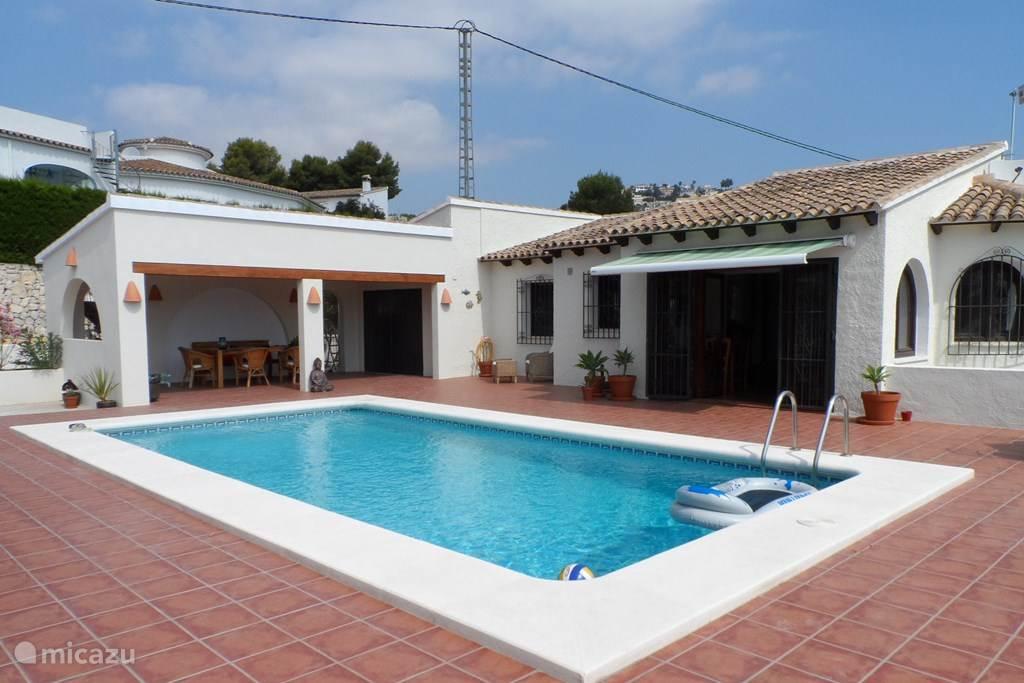 Vacation rental Spain, Costa Blanca, Benissa villa Nuestro Sueno