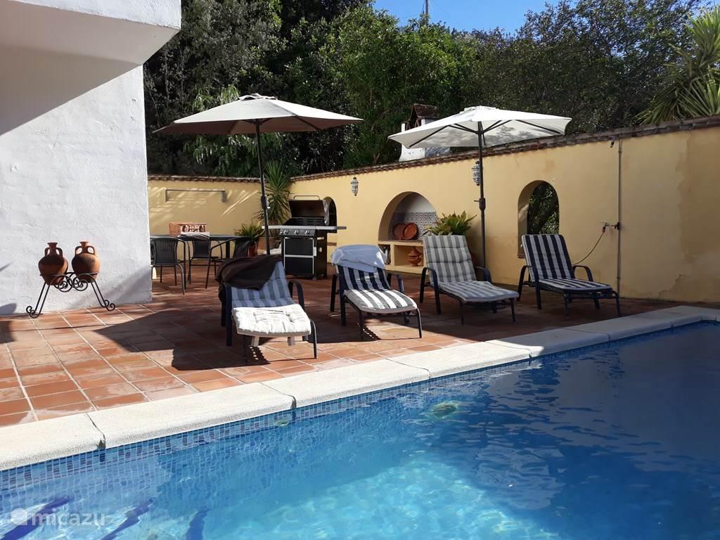 Vakantiehuis Spanje, Costa del Sol, Comares villa Casa Las Encinas