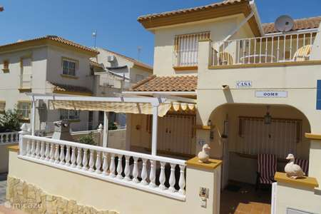 Vacation rental Spain, Costa Blanca, Orihuela Costa holiday house Casa Ooms
