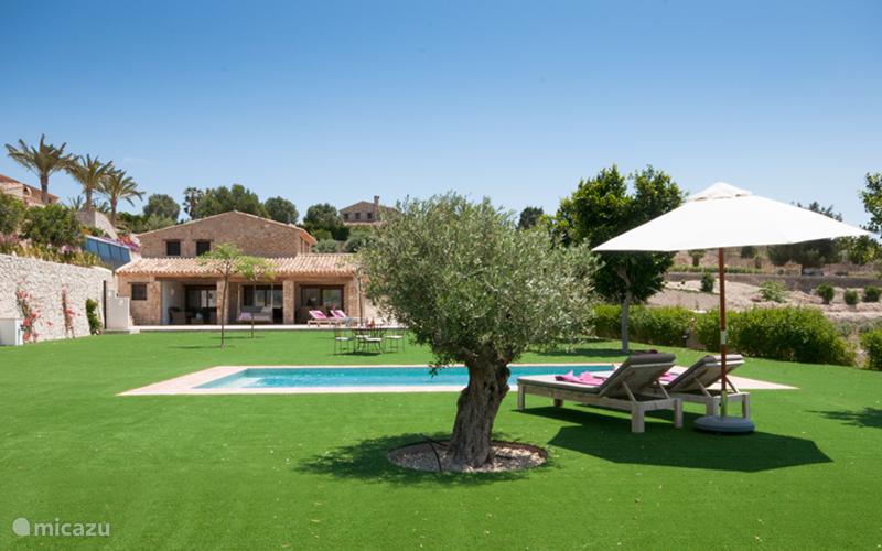 Ferienwohnung Spanien, Costa Blanca, Benissa villa Finca Feliz