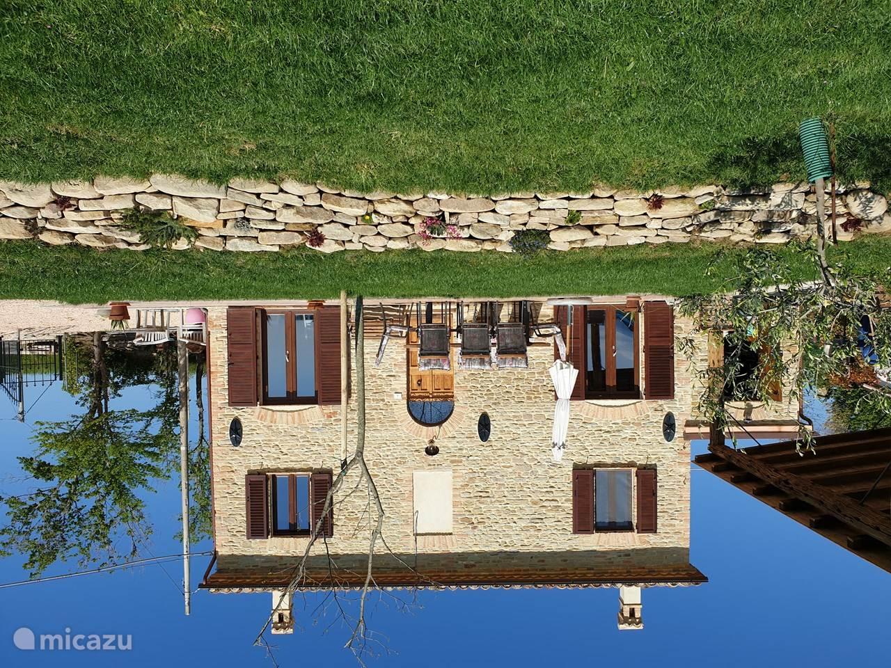 Vakantiehuis Italië, Marche, San Lorenzo In Campo vakantiehuis Casa Cantina