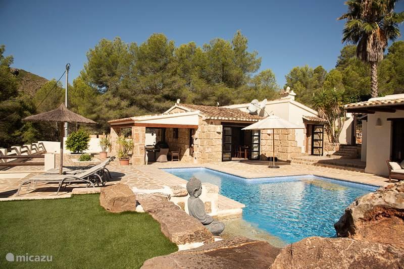 Vakantiehuis Spanje, Costa Blanca, Pedreguer Finca Gezellige finca met veel privacy