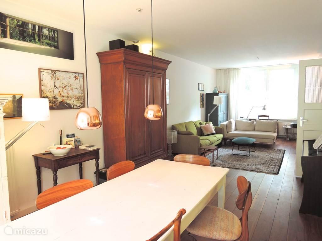 Vakantiehuis Nederland, Noord-Holland, Amsterdam appartement Stijlvol en Ruim met Tuin in Zuid