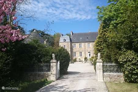 Vakantiehuis Frankrijk, Manche – landhuis / kasteel Chateau le Val