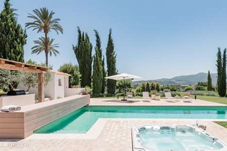 Vacation rental Spain, Costa Blanca, Javea bungalow Casa Pilar