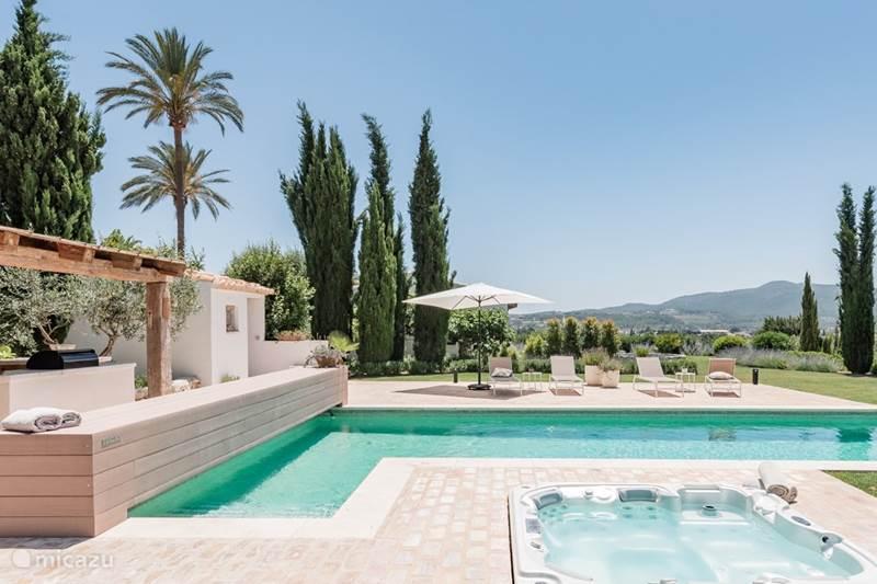 Vacation rental Spain, Costa Blanca, Javea Bungalow Casa Pilar