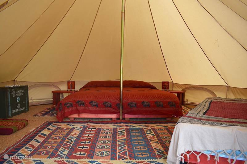 Vakantiehuis Italië, Toscane, Santa Fiora Glamping / Safaritent / Yurt  Podere di Maggio - Glamping tent 4
