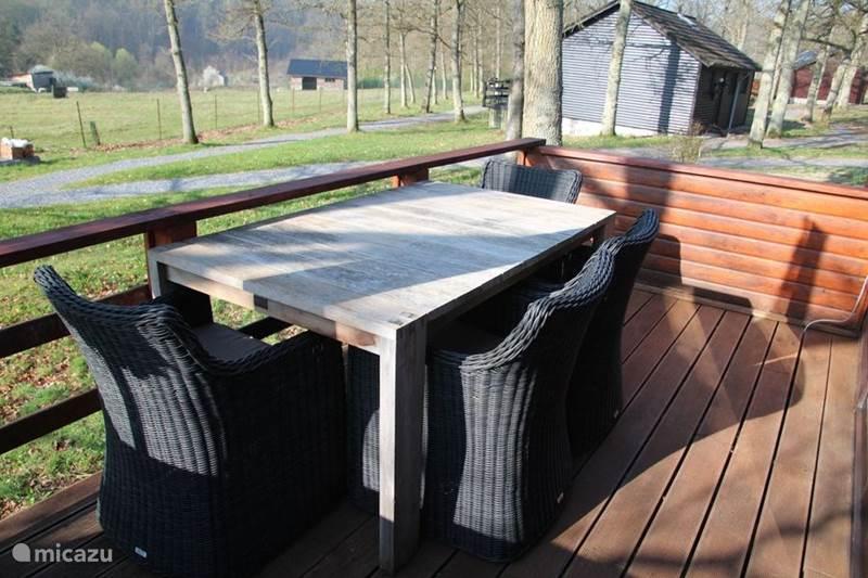 Vacation rental Belgium, Ardennes, Durbuy Chalet Genieterke