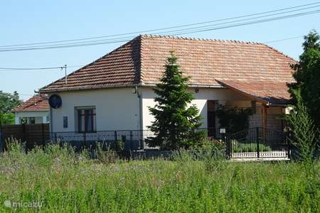 Vakantiehuis Hongarije, Tiszameer, Poroszlo vakantiehuis  Mélody Haz