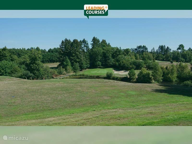De prachtige golfbaan 'Golf de la Prèze.