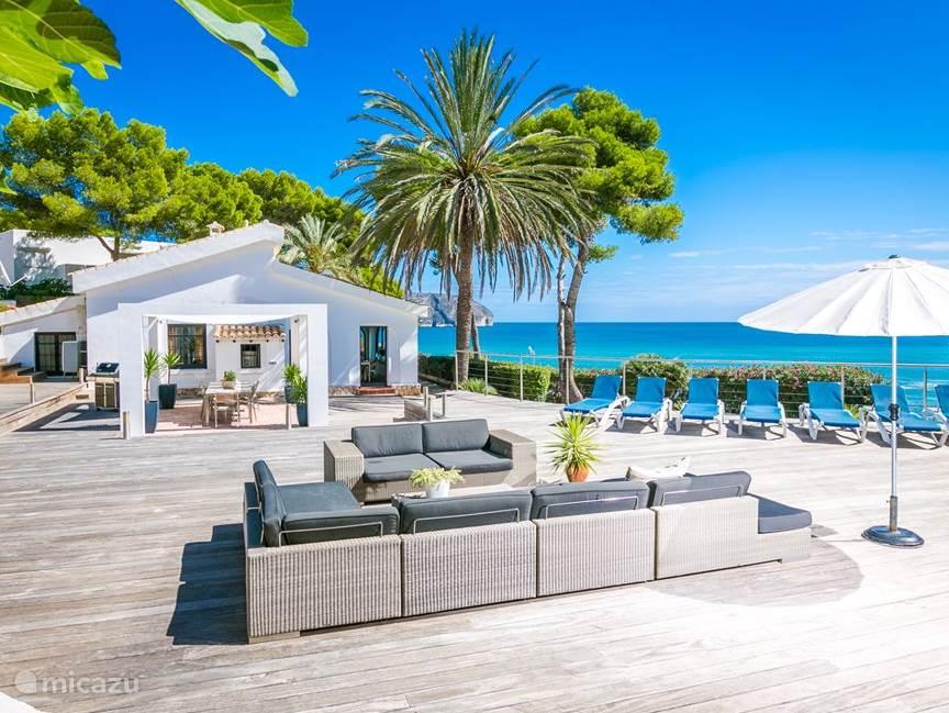 Vakantiehuis Spanje, Costa Blanca, Moraira villa Casa Andrago