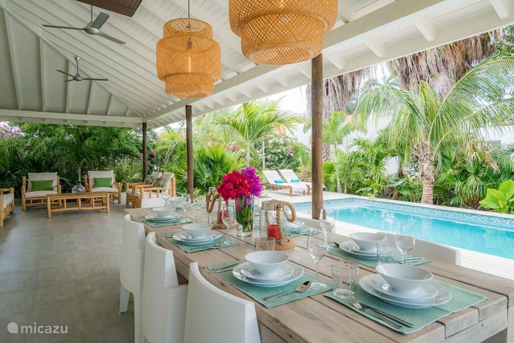 Vakantiehuis Curaçao, Banda Ariba (oost), Jan Sofat Villa Villa Flamingo